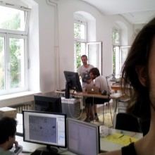 Felix-happy-about-new-Office